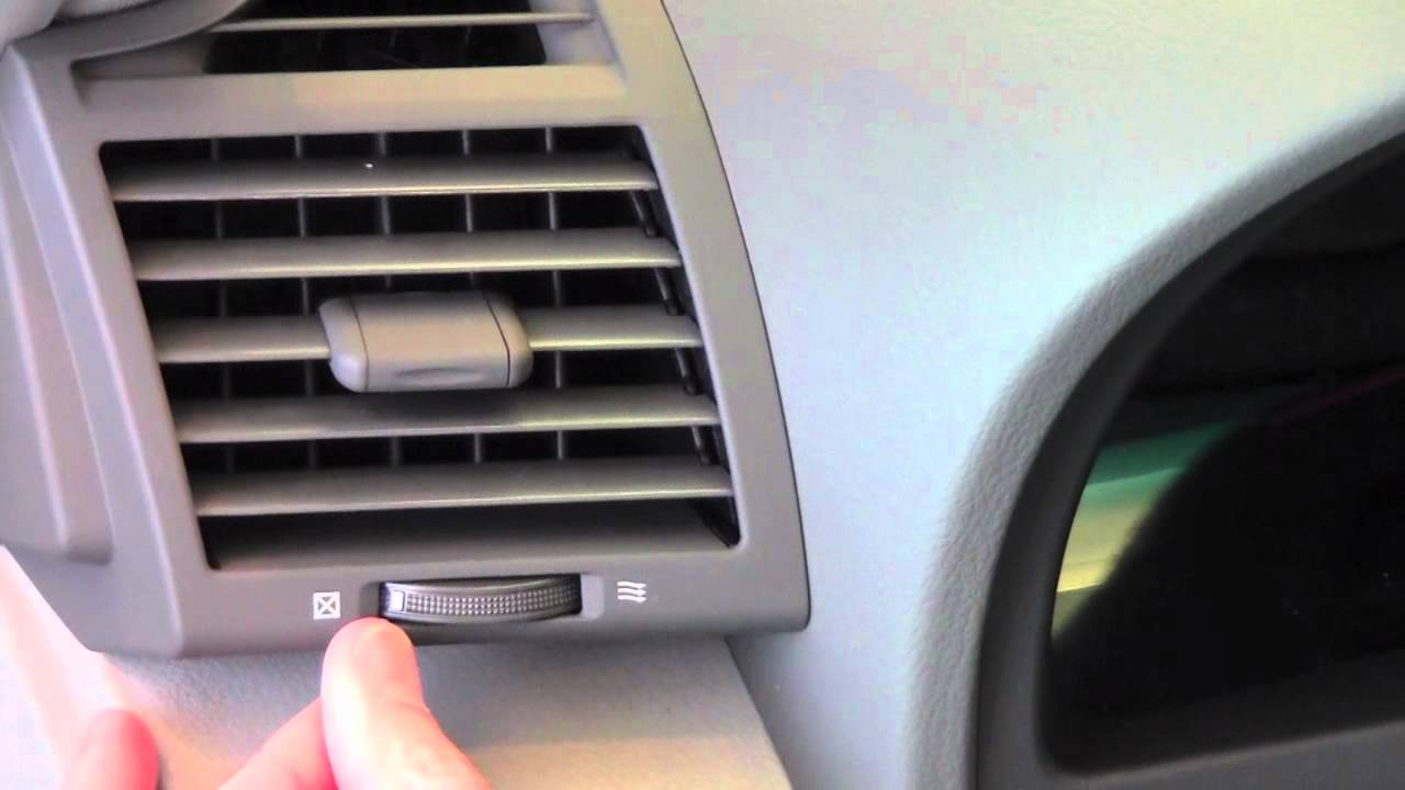 2011 Toyota Camry Air Vents How To By Toyota City
