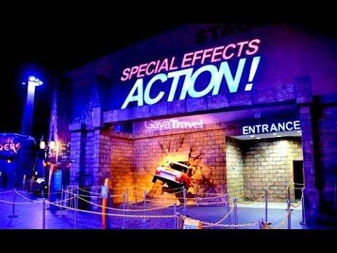 Keseruan Dan Ketegangan Di Special Effect Action Trans Studio Bandung