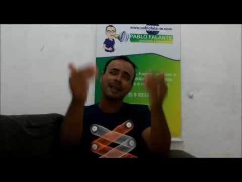 Pablo Falante e suas imitações no canal no youtube e facebook