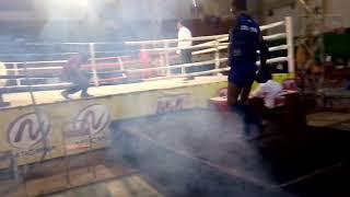 Jecki Karmela ( PAPUA ) 1Round vs Ari ( BABEL ). LigaNas MUAYTHAI INDONESIA Tulung Agung 2018