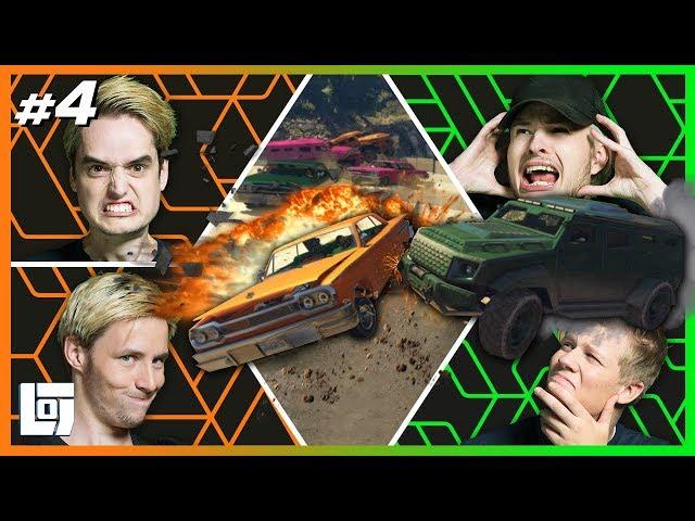 GTA V: BEUKEN MET PATSERBAKKEN! met Don, Link, Harm en Pascal | XL Battle | LOGS2 #4