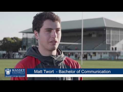 Bachelor Of Communication (Journalism Studies) Graduate Matt Twort | Massey University
