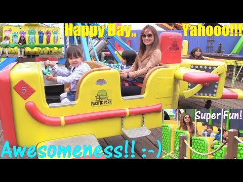 Outdoor Amusement Park. Roller Coaster, Ferris Wheel, Kiddie Rides, Arcade Prizes and More! 2017
