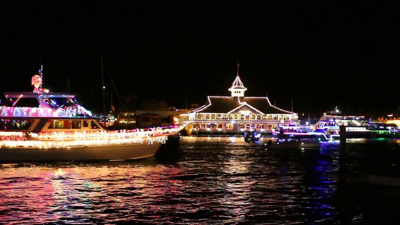 Newport Beach Christmas Boat Parade 2016 - Part II - YouTube