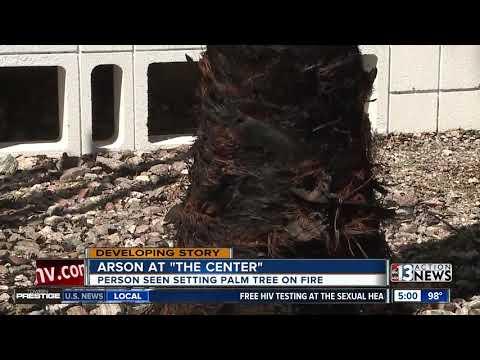 Arson Investigation At The Center In Las Vegas