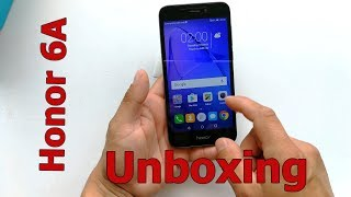 Honor 6A Unboxing and First Look (4K)