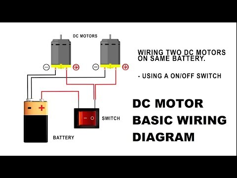 motors dc wiring volt diagrams 12 how to wire a dc motor on battery with switch and relay youtube  how to wire a dc motor on battery with