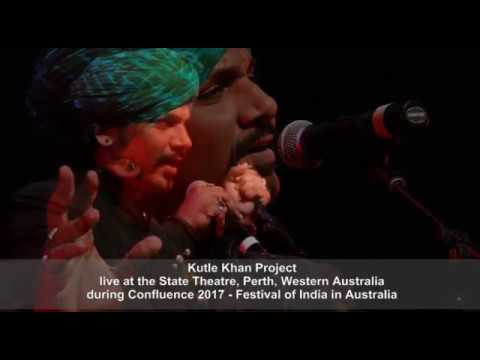 Kutle Khan Project live during Confluence 2017Perth, Western Australia