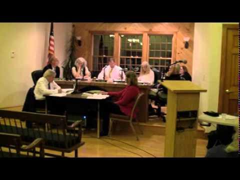 HOPKINTON TOWN COUNCIL MEETING – October 20, 2014