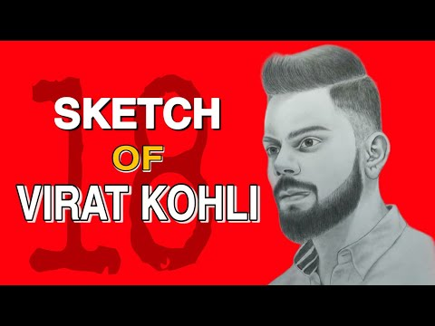 Virat Kohli Sketch Step By Step