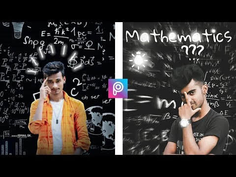 picsart mathematics expart editing || Picsart mathematic photo editing tutorial thumbnail