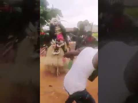 Download A wonderful Masquerade performance in Egwu  Imo Awka festival Today Being  Umuokpu Day.