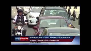 Presentan nueva norma de verificación vehicular