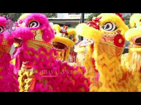 Sultan Johor dan Keluarga DiRaja Hadir Sambutan Tahun Baharu Cina