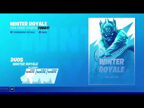 Fortnite Winter Royale Prize Increase & Placement Changes! (Easy to Win)