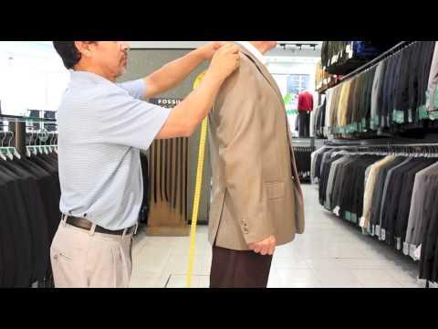 Como saber mi talla de traje o saco