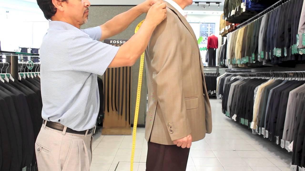 6d2acfe1ee33e Como saber mi talla de traje o saco - YouTube