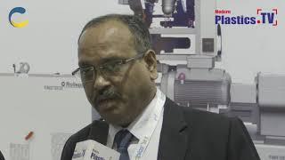 An exclusive interview with Mr.Shrinivas Beahma at  IndPlas 2018, Kolkata. www.ModernPlastics.TV