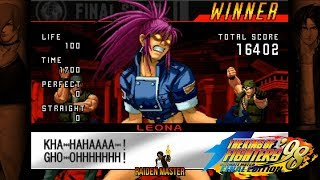 KOF 98 Ultimate Match Final Edition (Steam) - Team Orochi Leona, Ralf e Clark Full (Match)