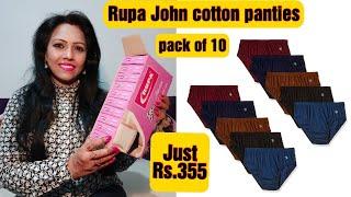 Rupa Jon Cotton Panties pack of 10 Amazon Just Rs 355