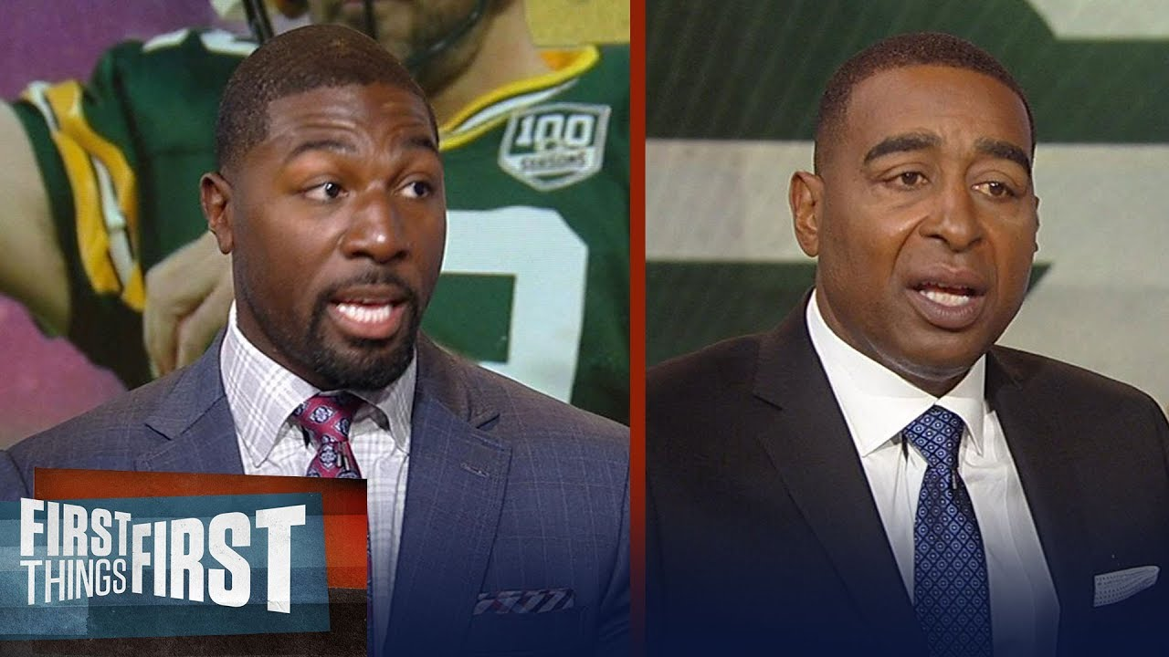 Greg Jennings on biggest key for Rodgers, Packers vs. Vikings in Week 2 | NFL | First Things First