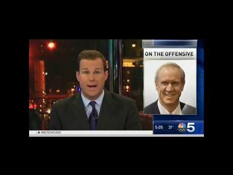 NBC 5 Report on Pritzker Blagojevich Wiretap   Bruce Rauner   Illinois