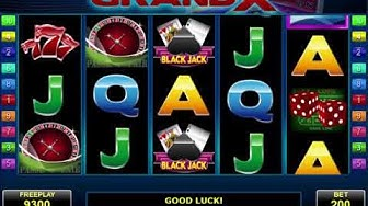 GrandX video slot - Online Casino game Review by Amatic