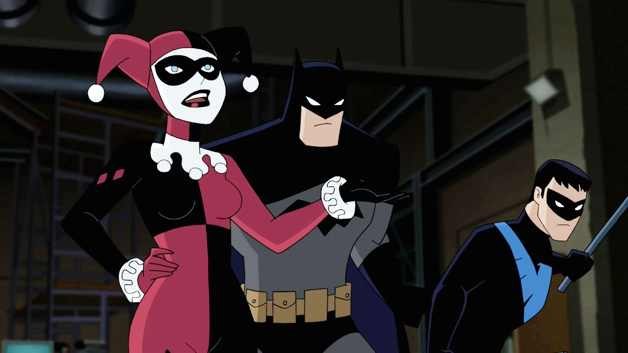 Image result for batman and harley quinn