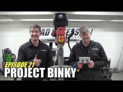 Project Binky - Episode 21 - Austin Mini GT-Four - Turbocharged 4WD Mini