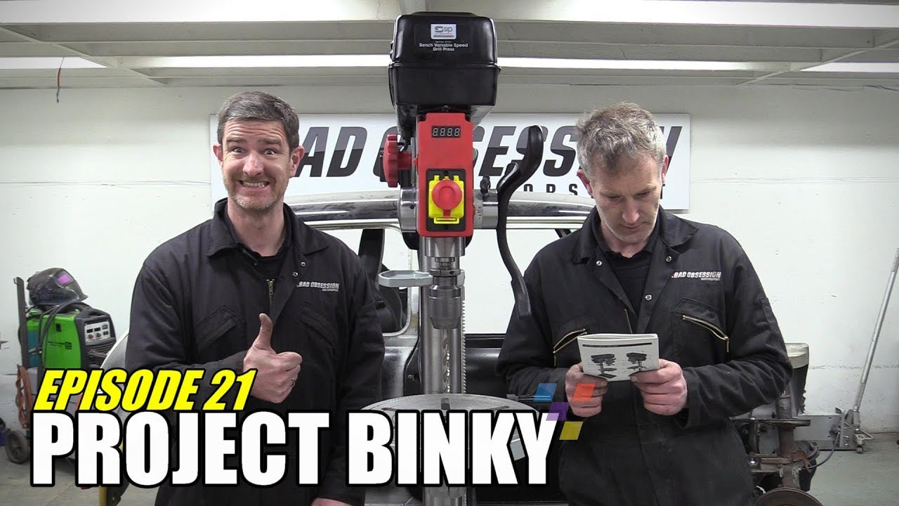 Project Binky - Episode 21 - Austin Mini GT-Four - Turbocharged 4WD Mini