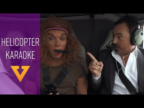 Vegas 24: Helicopter Karaoke ft. Carrot Top