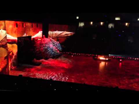 How to train a Dragon at HP Pavilion