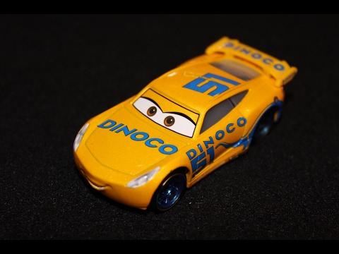 Mattel Disney Cars 3 Dinoco Cruz Ramirez Piston Cup Racer