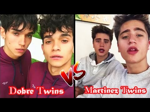 Thumbnail: Lucas And Marcus Vs Martinez Twins | dobretwins Vs blondtwins Battle Musers