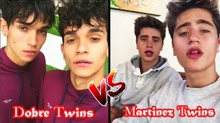 Lucas And Marcus Vs Martinez Twins | dobretwins Vs blondtwins Battle Musers