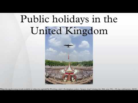 Public holidays in the United Kingdom