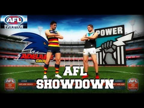 AFL Evolution // Crows vs Port // Showdown