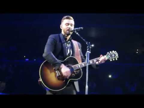 Justin Timberlake - Not A Bad Thing - Live at The Barclays Center