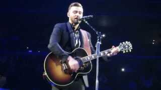 justin timberlake not a bad thing live at the barclays center