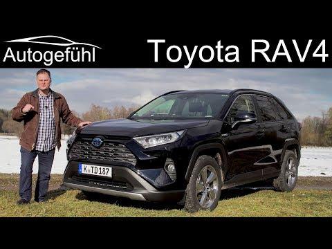 Toyota RAV4 FULL REVIEW 2.5 Hybrid all-new 2019 2020 - Autogefühl