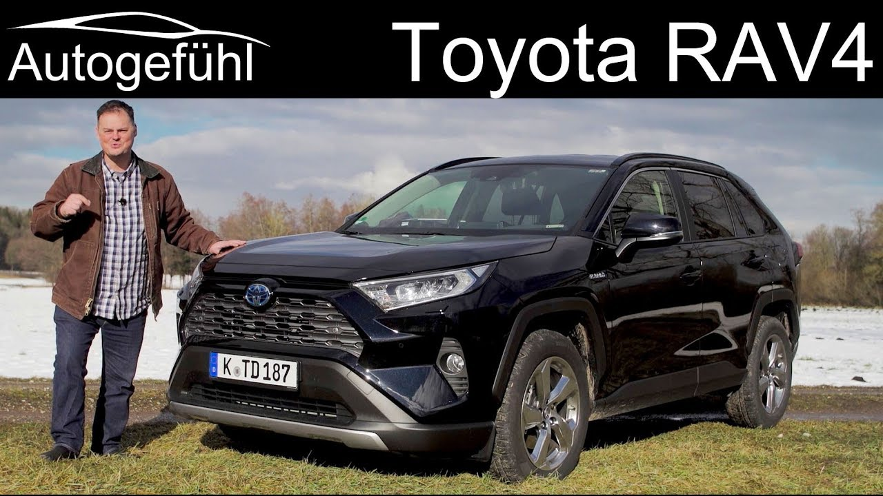2020 Rav4 Hybrid Review.Toyota Rav4 Full Review 2 5 Hybrid All New 2019 2020 Autogefuhl