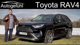 Toyota RAV4 FULL REVIEW 2.5 Hybrid all-new 2019 2020 - Autogefühl