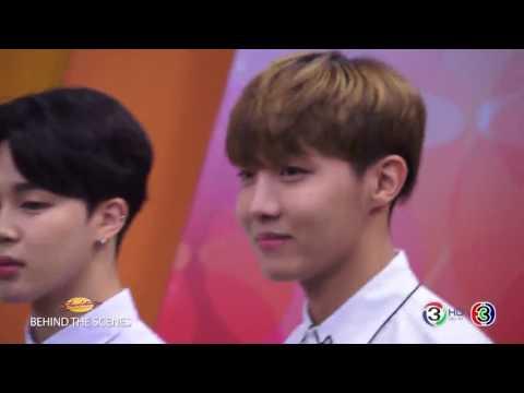 160805 Epilogue in Bangkok - BTS in Morning News TV3 - Behind the Scenes
