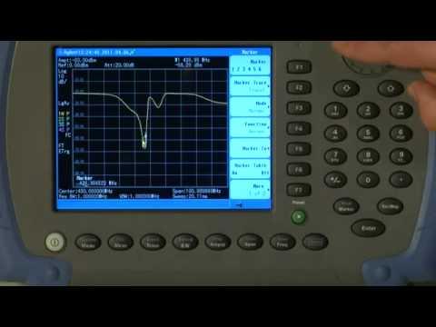 How to Measure Insertion Loss | N9344C, N9343C, N9342C Handheld Spectrum Analyzers | Keysight
