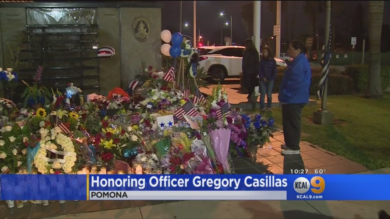 Honoring Officer Gregory Casillas