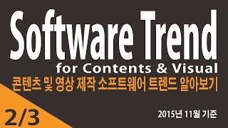 콘텐츠 및 영상 제작 분야 소프트웨어 트렌드_2번_취업…