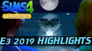 E3 2019 Highlights Deutsch: SIMS 4 Island Living | Meerjungfrauen und ein tropisches Paradies