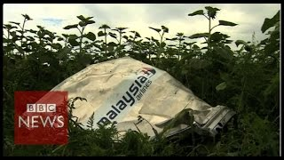 Bodies moved from Ukraine crash site - BBC News