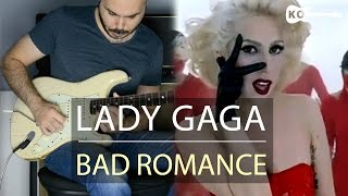 Lady Gaga - Bad Romance - Electric Guitar Cover by Kfir Ochaion
