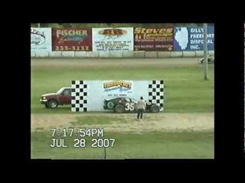 2007 Freeport Raceway Park Modified dirt heat race